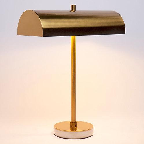 Hamlin Desk Lamp - Brushed Brass/Marble - RR $299