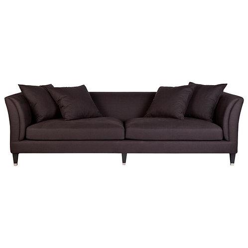 Tailor 3-Seat Sofa - Black Linen - RR $4495