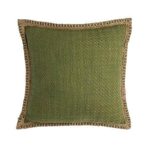 Bawa Woven Cushion - Moss - 50x50cm