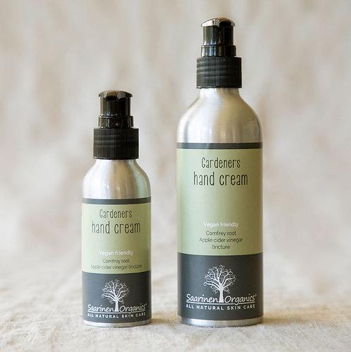 Gardener's Hand Cream 250ml - nourishing/soothing for dry/cracked skin