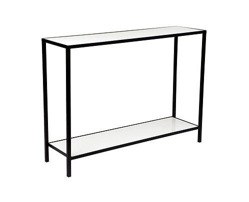 Stone Top Console Table 110cm wide - Black - RR $720
