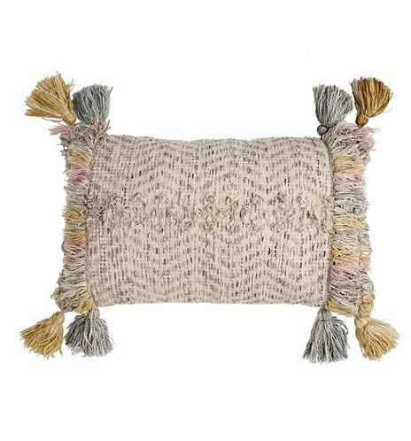 Calvi Woven Cotton Cushion - 40x60cm