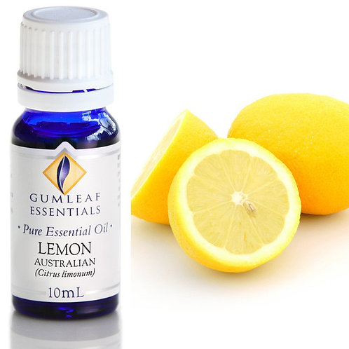 Lemon Pure Essential Oil - Australian  - 10ml