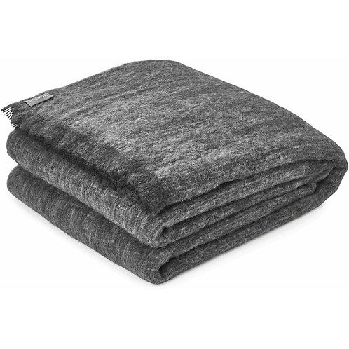 Alpaca Pure Wool Blanket/Throw PEPPER 200cmx235cm