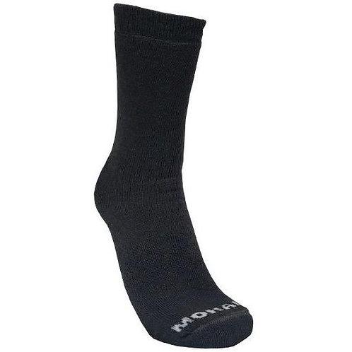 Mohair/Merino Wool Boot-Hiking Sock - Charcoal Size 4-7