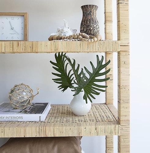 Palms Rattan 5-Shelf Unit - 208cm high  - RR$1049