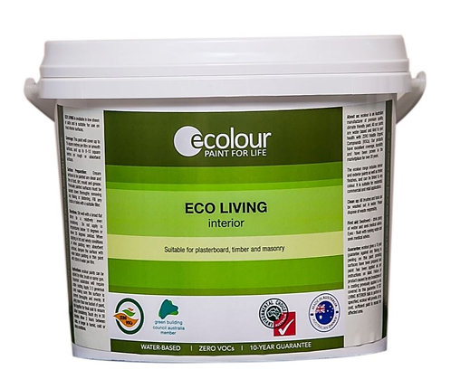 ECOLOUR™ eco living interior - LOW SHEEN  - 100% VOC FREE