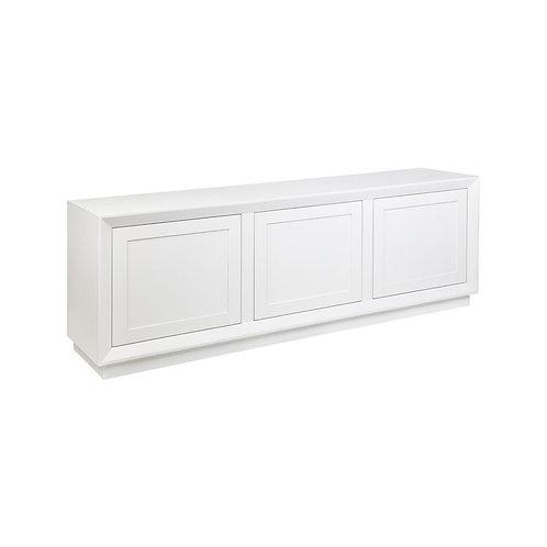Balmain Oak Buffet - 3-Door - White - 150cm Wide - RR $3189