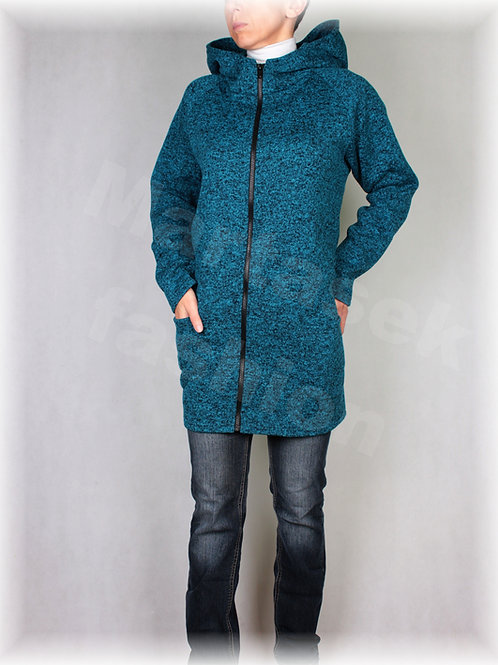 Kabátek s kapucí-svetrovina(více barev)