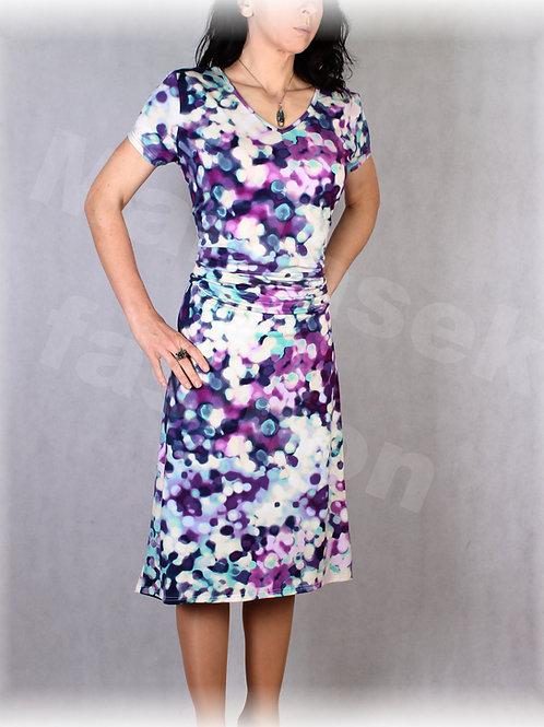 Šaty s řasením v pase vz.639