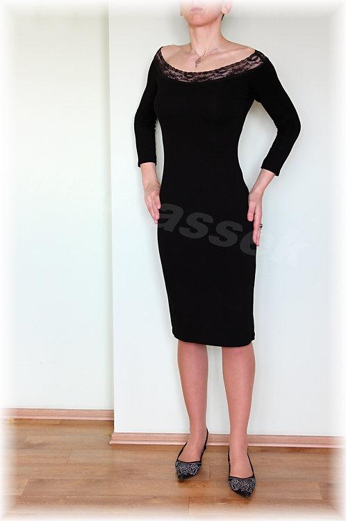 Šaty vz. 227 - (barva černá a bílá)