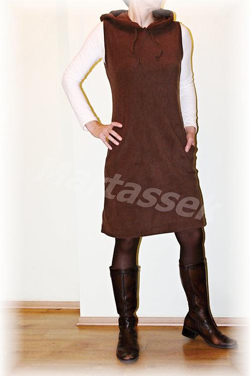 Šatovka  s kapucí fleece (více barev)