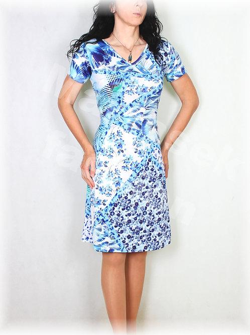 Šaty luxusní úplet vz.528