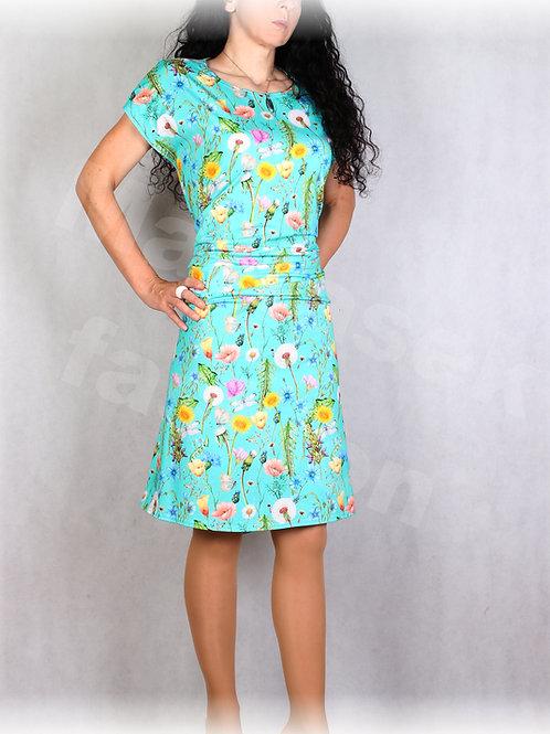 Šaty s řasením v pase vz.676