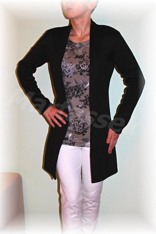 Kabátek bez zapínání-svetrovina(více barev)