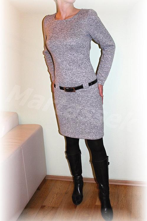 Šaty -krásně hřejivý úplet (více barev)