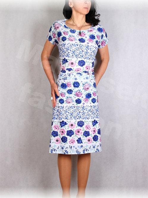 Šaty  luxusní úplet vz.656