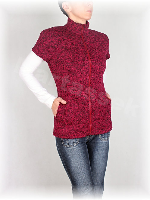 Kabátek s kapsami-svetrovina(více barev