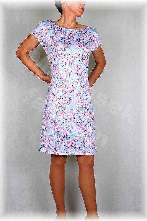 Šaty jabloňový květ vz.352