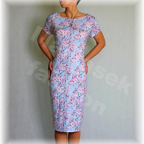Šaty jabloňový květ vz.347