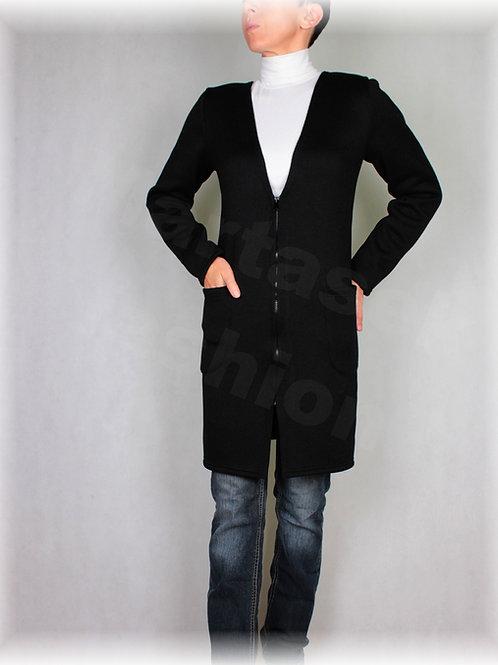 Kabátek do V na zip(více barev)