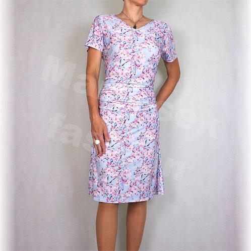 Šaty jabloňový květ vz.478
