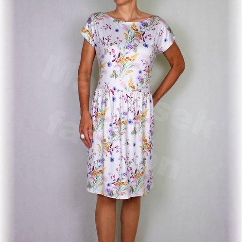 Šaty luxusní úplet  vz.487