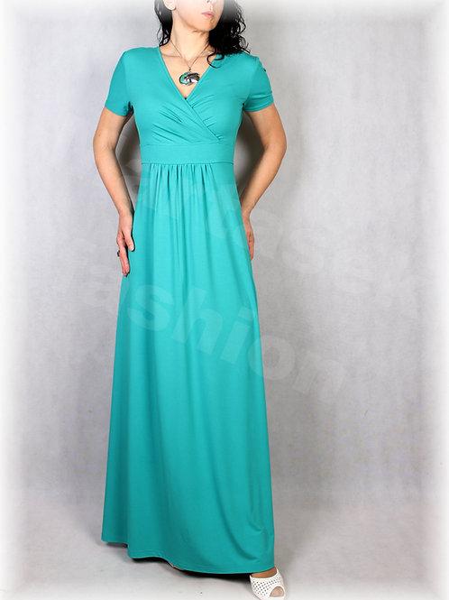 Šaty  vz.627 (viskóza/elastan-více barev)