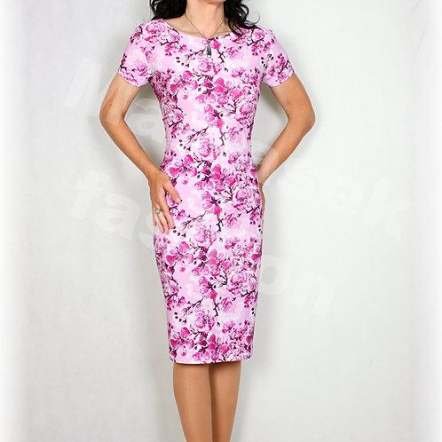 Šaty jabloňový květ vz.604