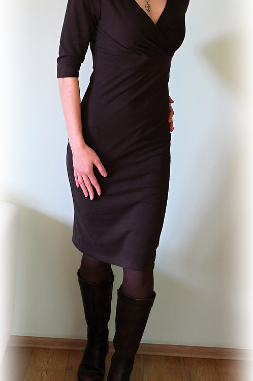 Šaty  vz.146 (bavlna/elastan-více barev)