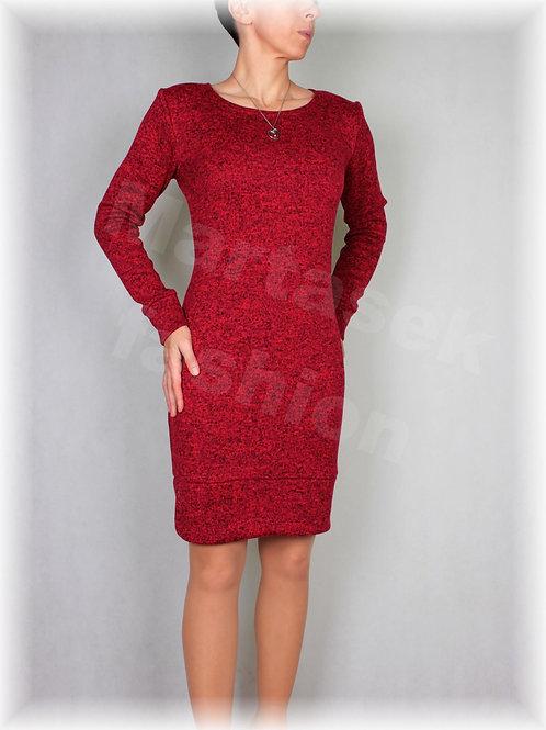 Šaty-hřejivá svetrovina (více barev)