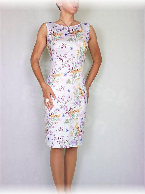 Šaty luxusní úplet  vz.485