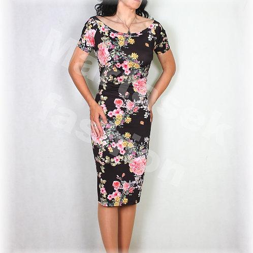 Šaty  luxusní úplet vz.556
