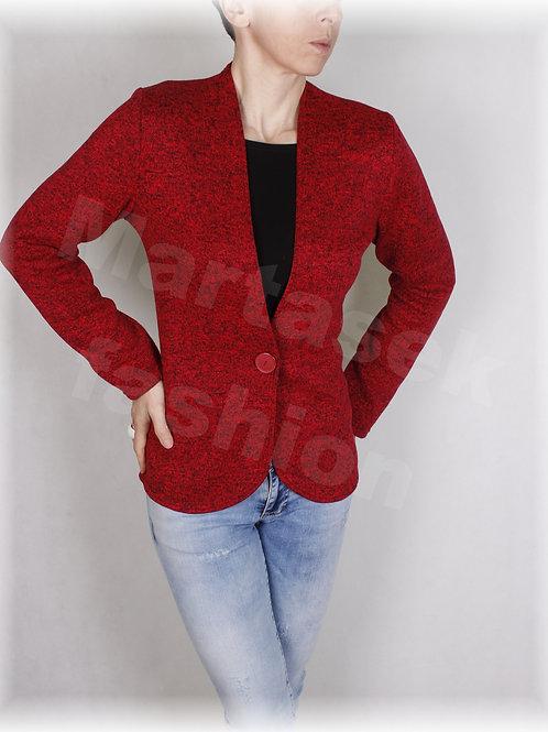 Kabátek na knoflík-svetrovina(více barev)