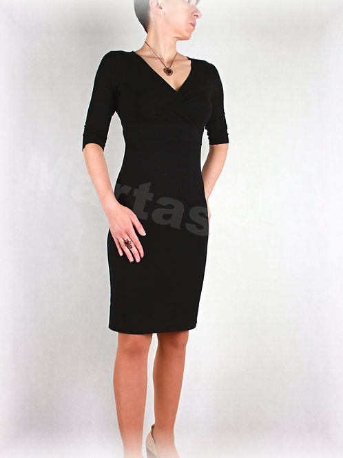 Šaty  vz.146 (viskóza/elastan-více barev)