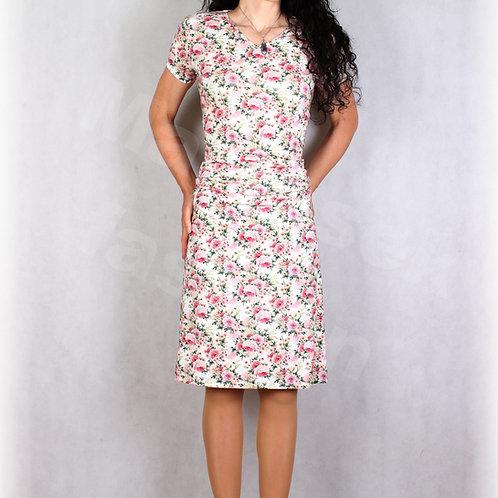 Šaty s řasením v pase vz.679