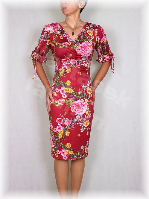 Šaty luxusní úplet  vz.495