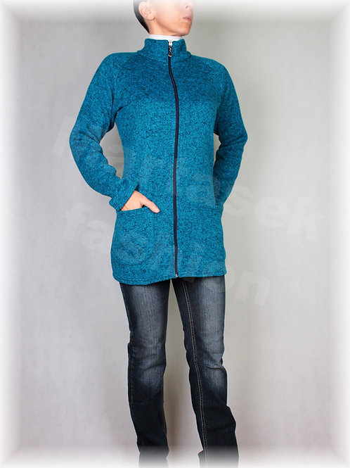 Kabátek na zip-svetrovina(více barev)