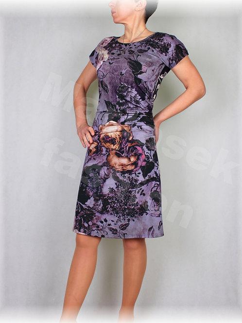 Šaty s řasením v pase vz.402