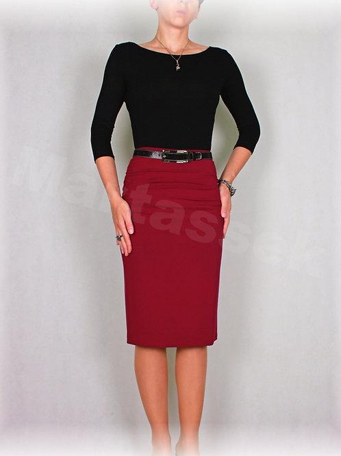 Sukně s řasením v pase vz.307 (více barev)