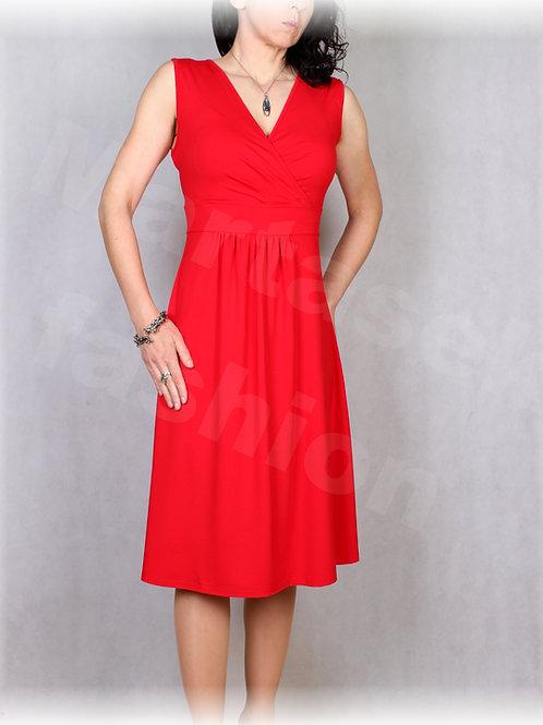 Šaty  vz.628 (viskóza/elastan-více barev)