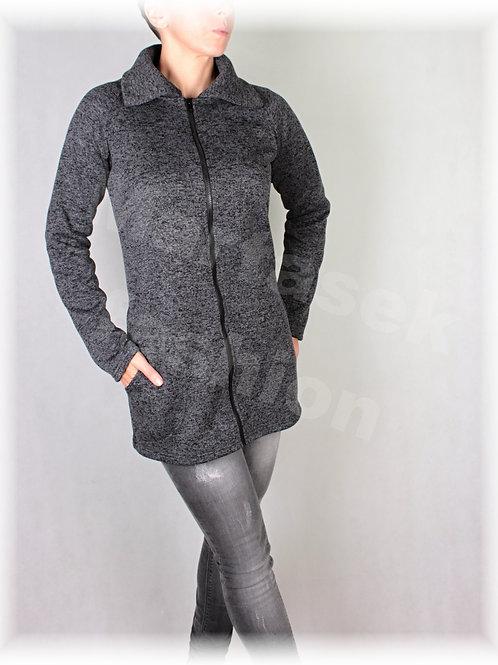 Kabátek s límcem-svetrovina(více barev)