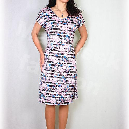Šaty luxusní úplet vz.530