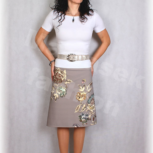 Sukně luxusní úplet podzim-jaro vz.716