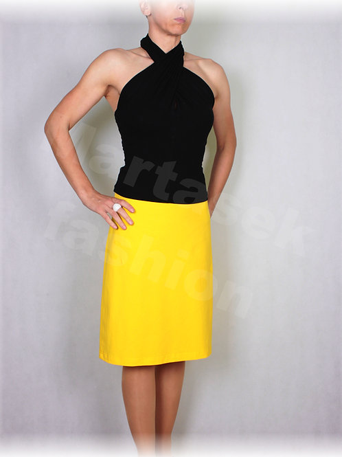 Sukně bavlněný úplet vz.617 (více barev)