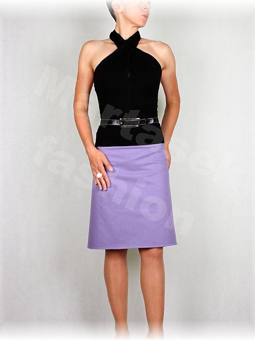 Sukně z krásné lila rifloviny vz.447