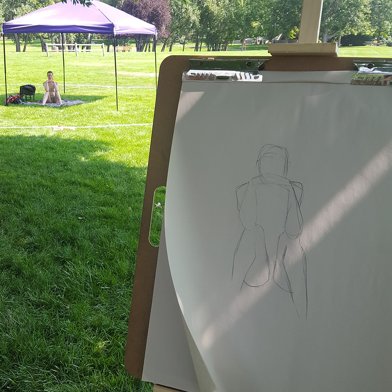 Plein Air Figure Drawing