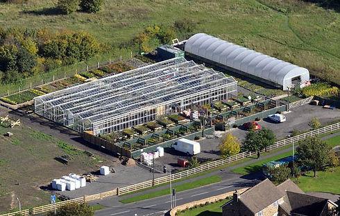Aerial View of Woodend Nurseries