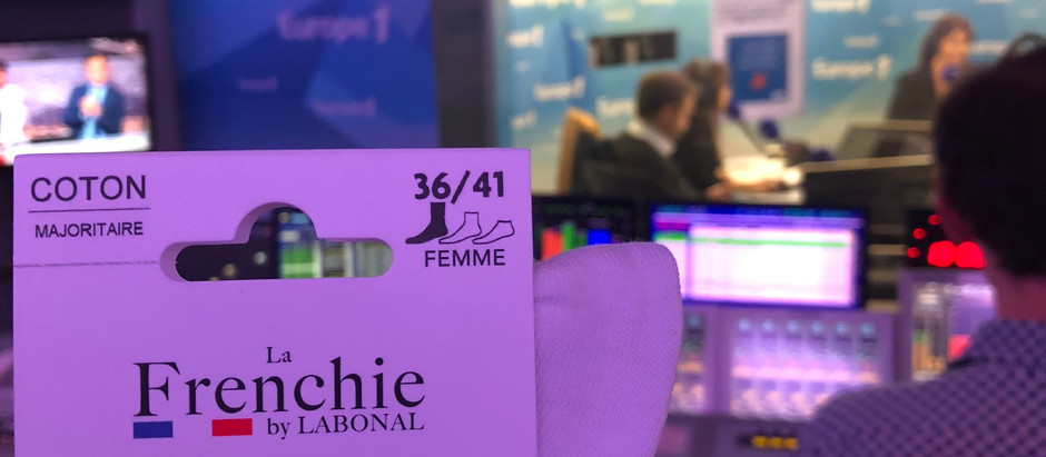 La Frenchie by Labonal dans les Echos et sur Europe 1