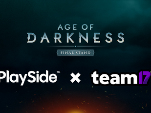 PlaySide partners with Team17 to publish Age of Darkness: Final Stand!